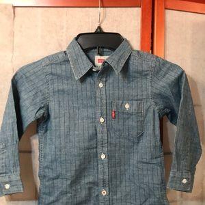 Levi's button down shirt NWOT Sz 3T